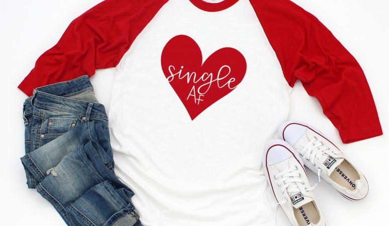 Free Valentines SVG Files – Single AF SVG for Those Who Are Single AF