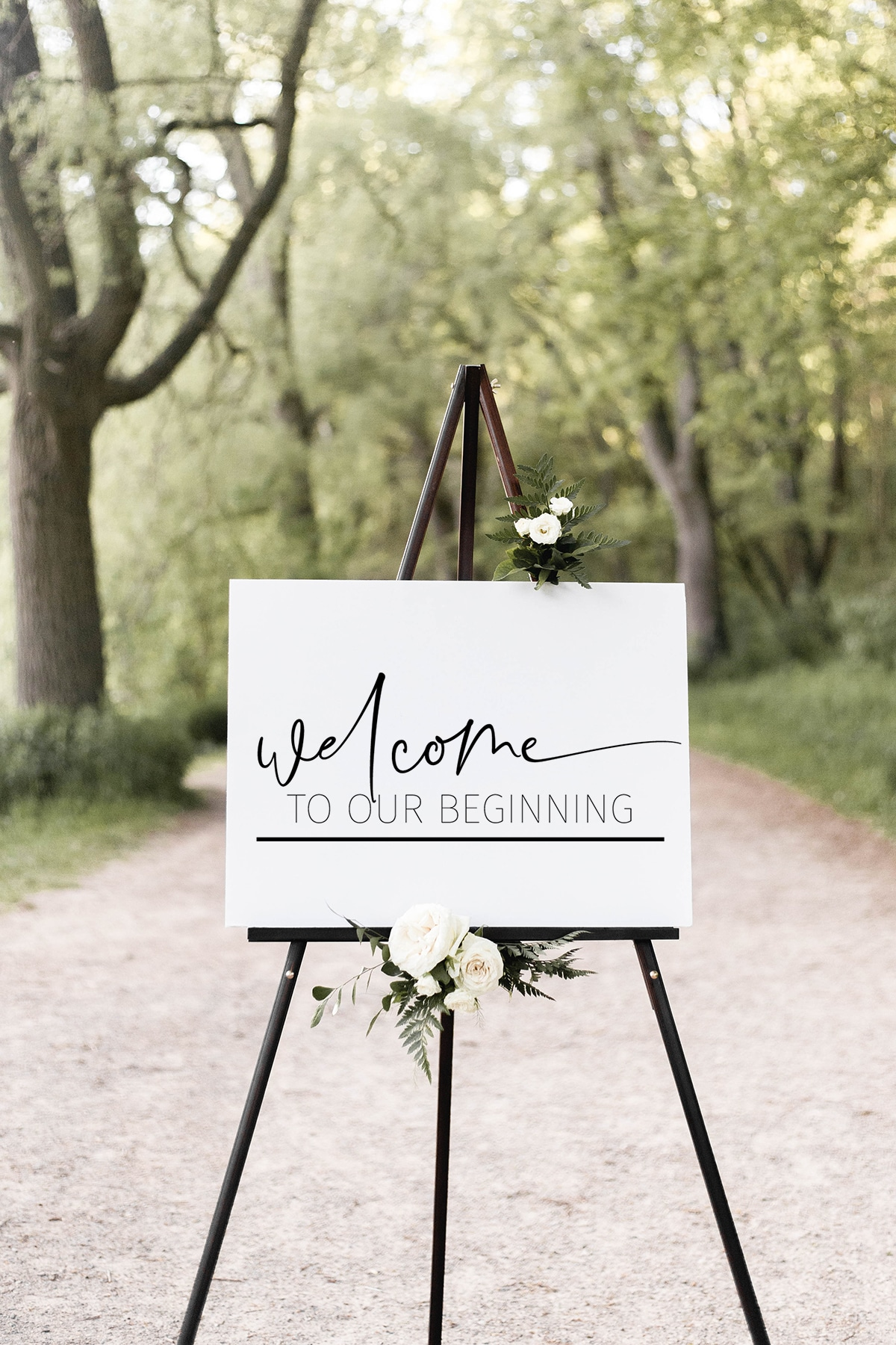 large wooden wedding sign using cricut or silhouette