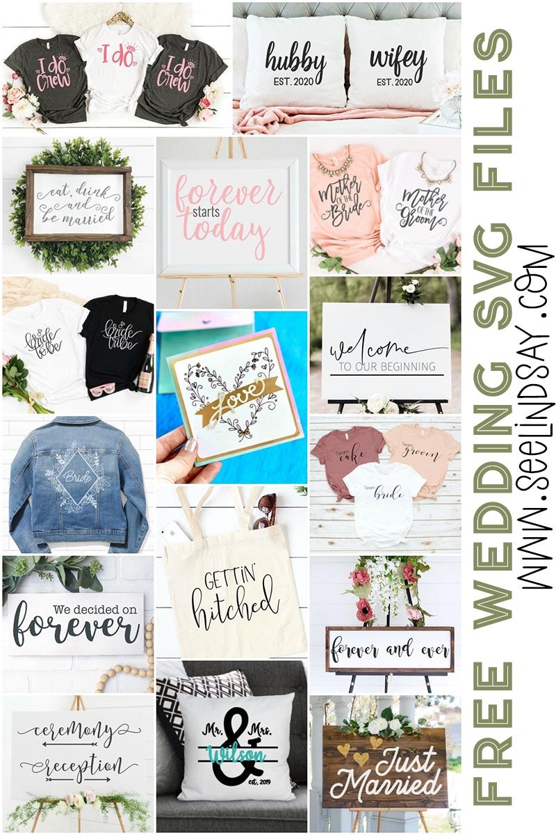 16 free wedding svg files