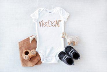 DIY Baby Onesie – Needy AF