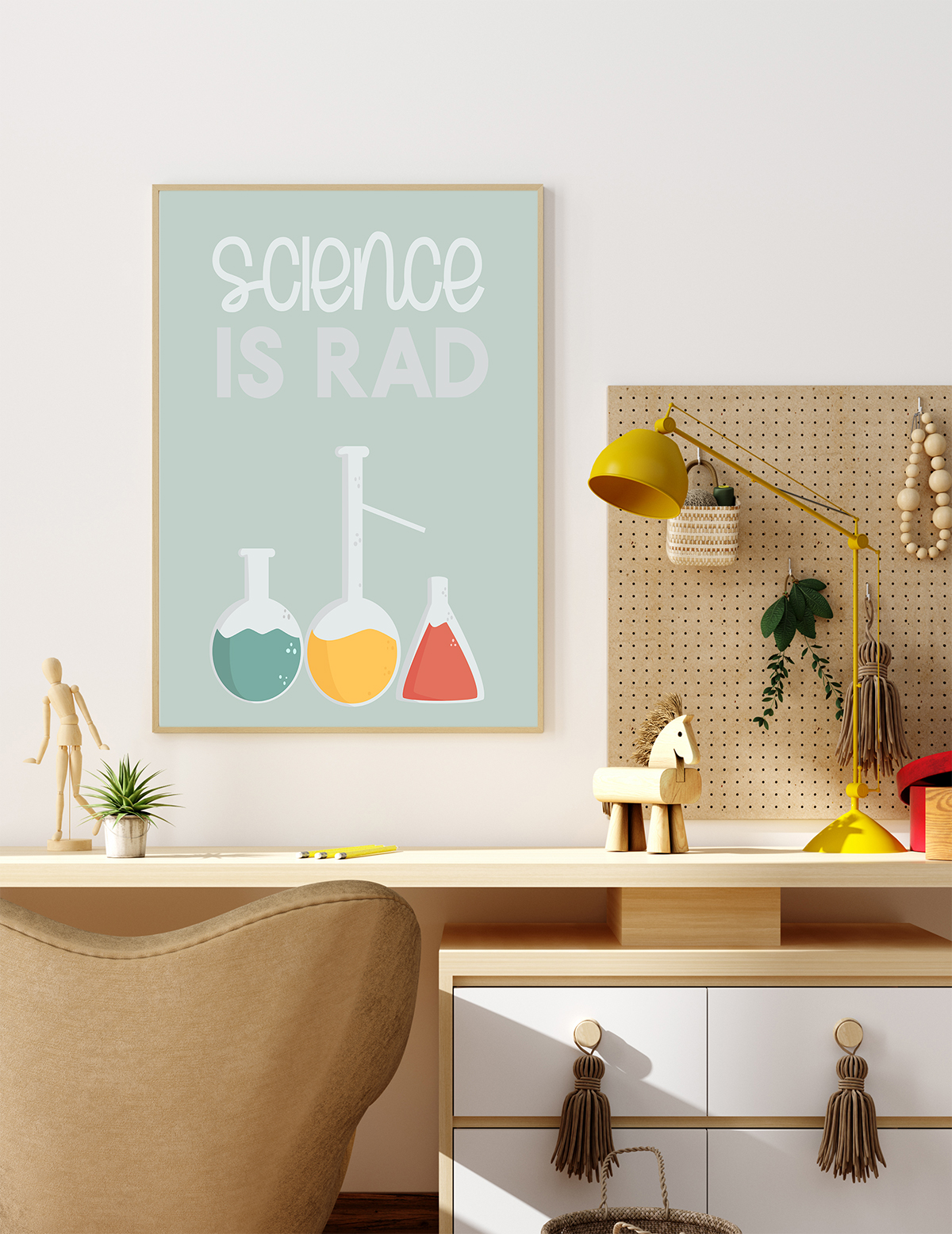 free science is rad poster printable
