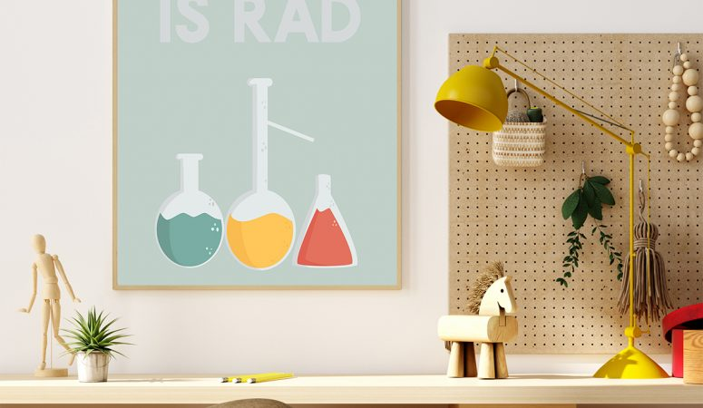 Free Science Printable – Science Is Rad Poster