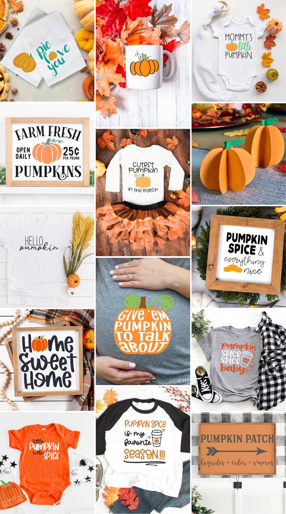 pumpkin themed svg files
