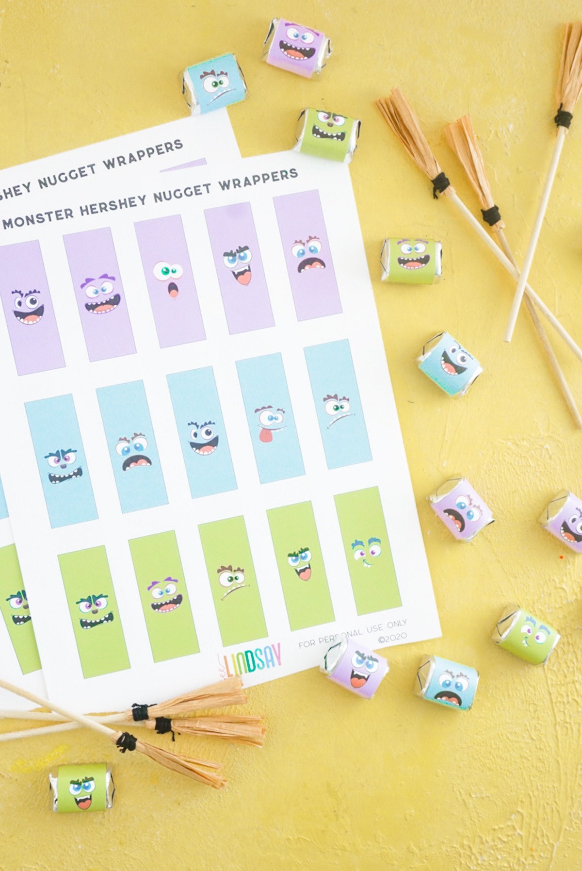 free halloween candy printable