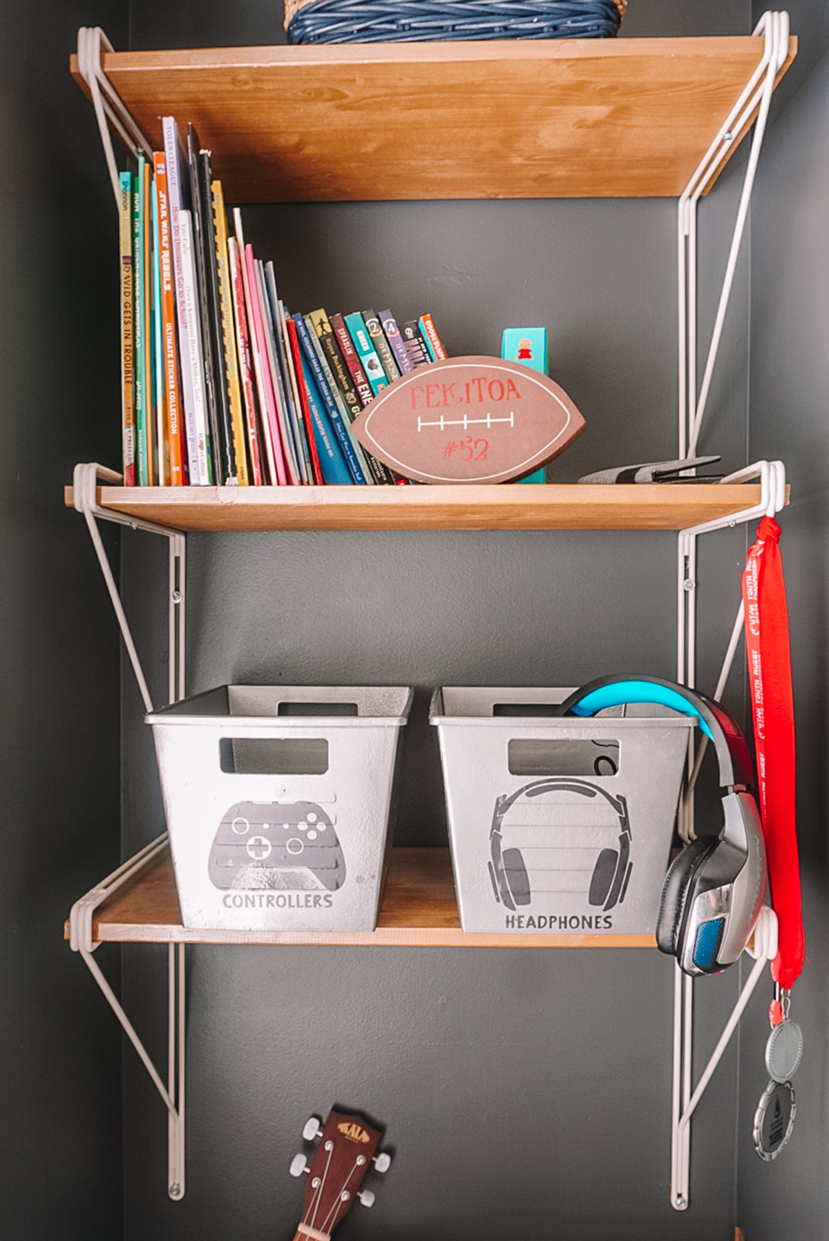dollar store organization bins