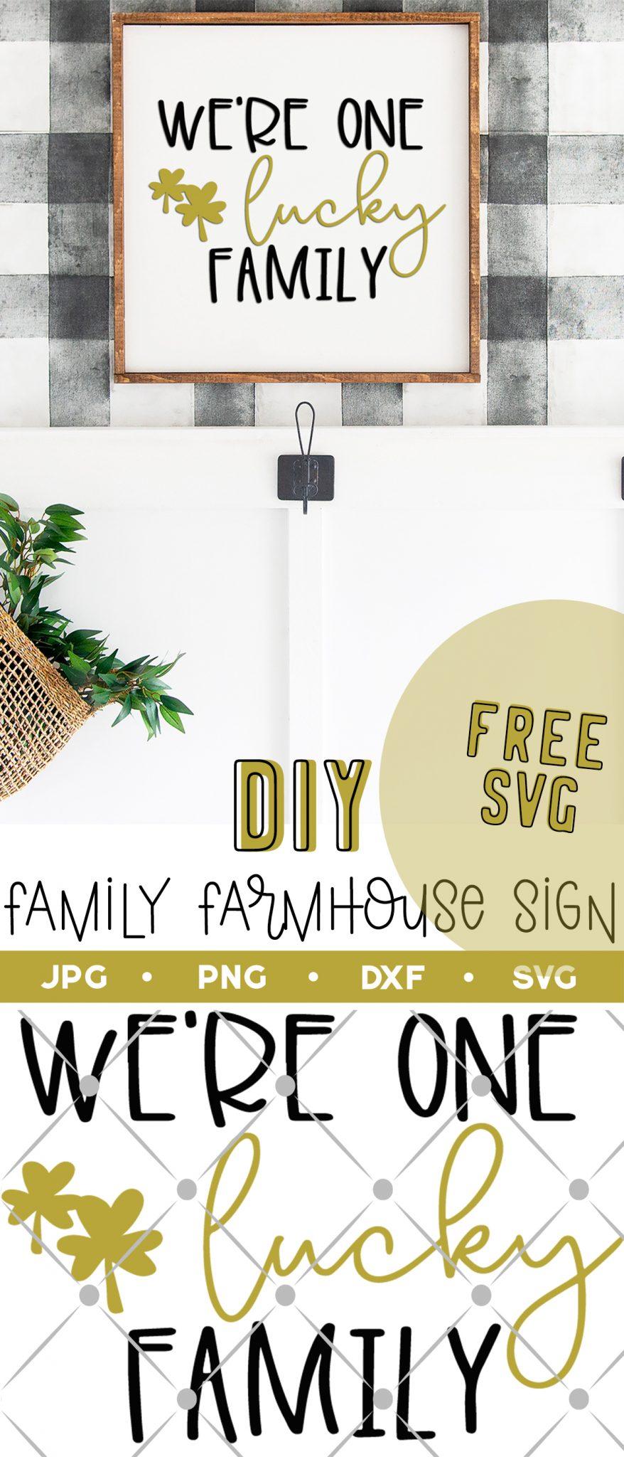 diy family farmhouse sign