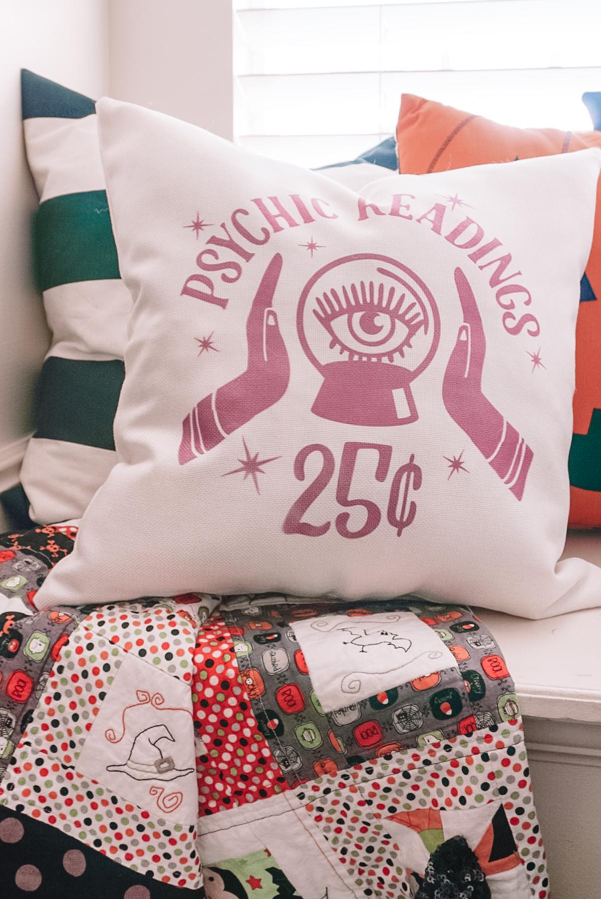 easy halloween pillowcase