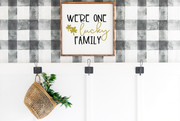 Free Family SVG Files – We're One Lucky Family