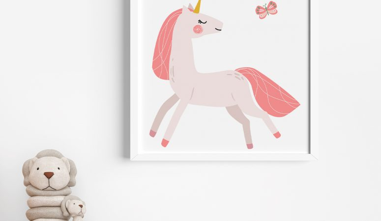 Free Unicorn Printables – Unicorn Wall Art