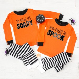 diy kids halloween pajamas