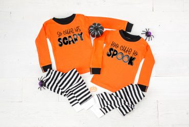 DIY Halloween Pajamas with Free SVG Files