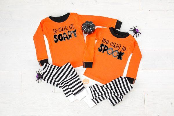 diy kids halloween pajamas