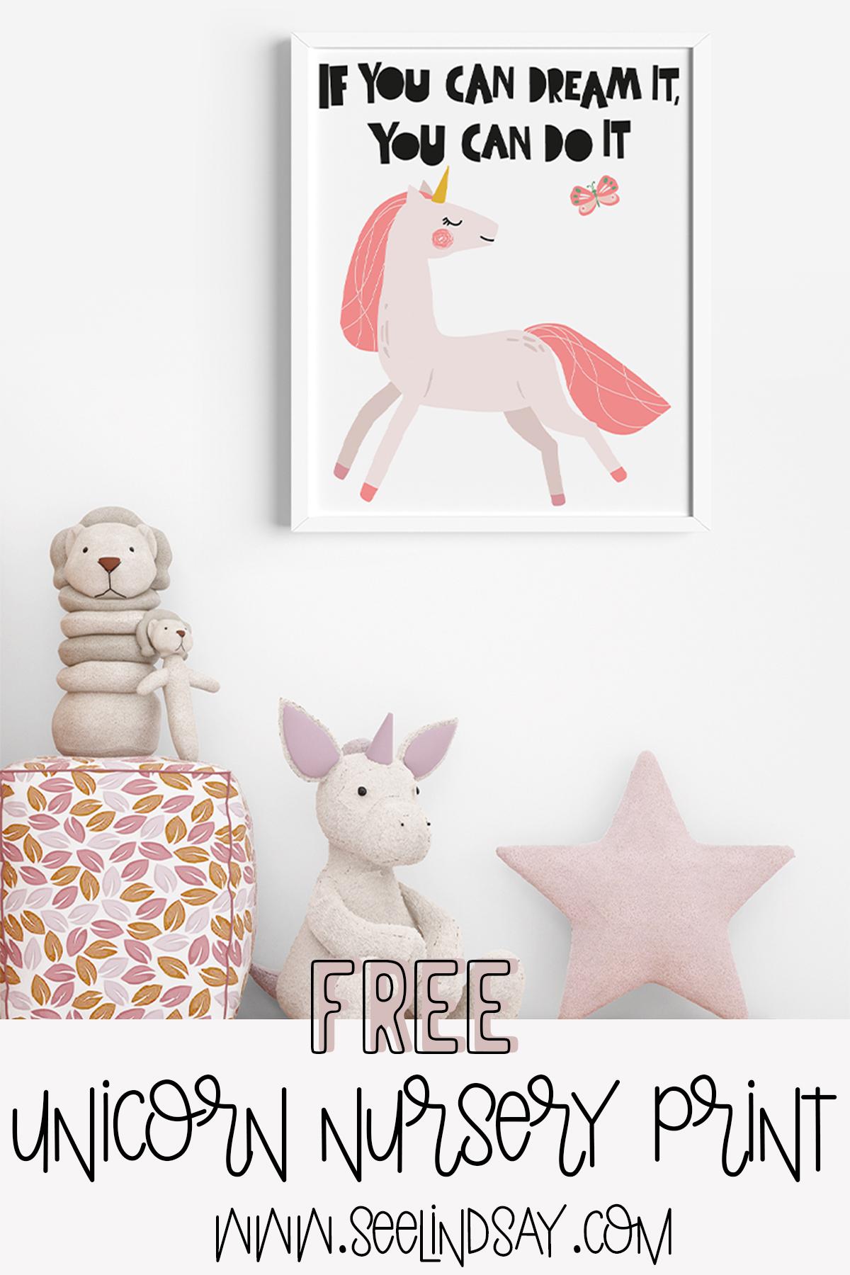 free unicorn art