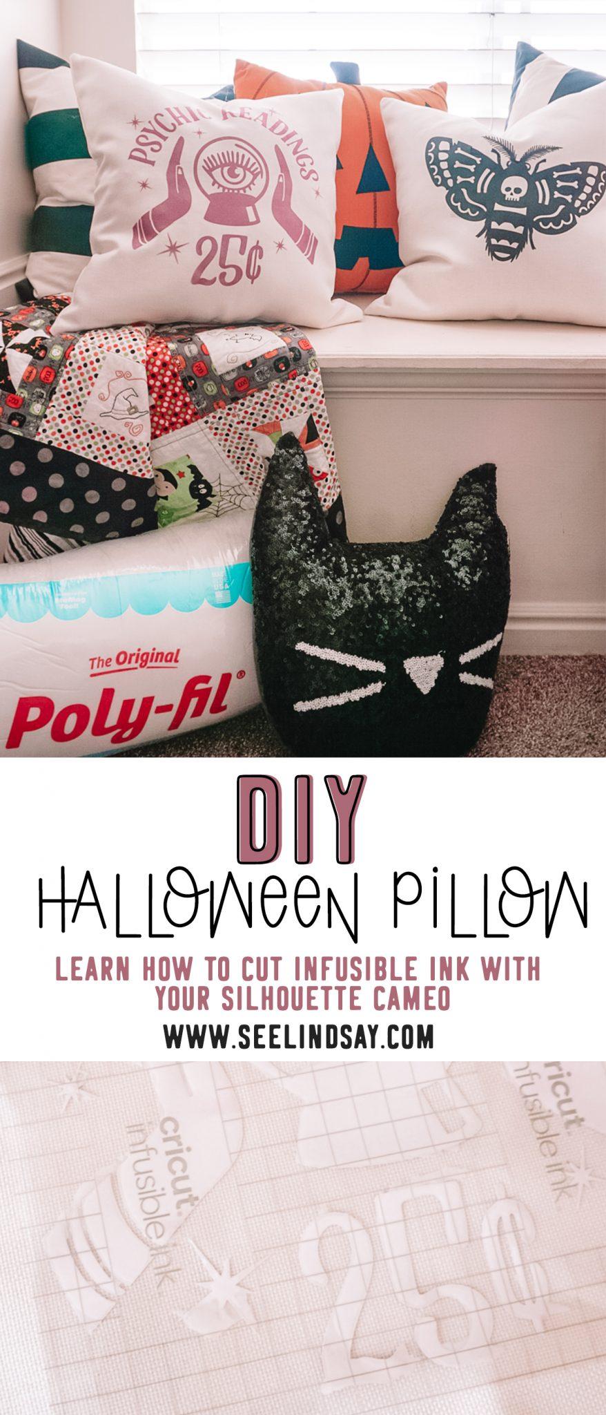 diy halloween pillows