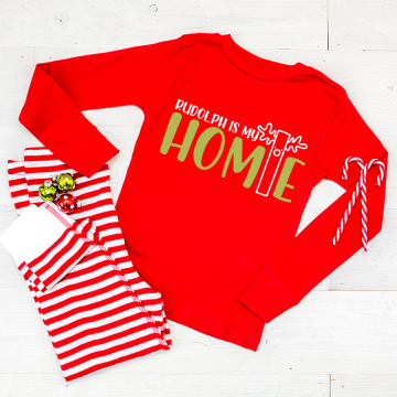 homemade christmas pajamas