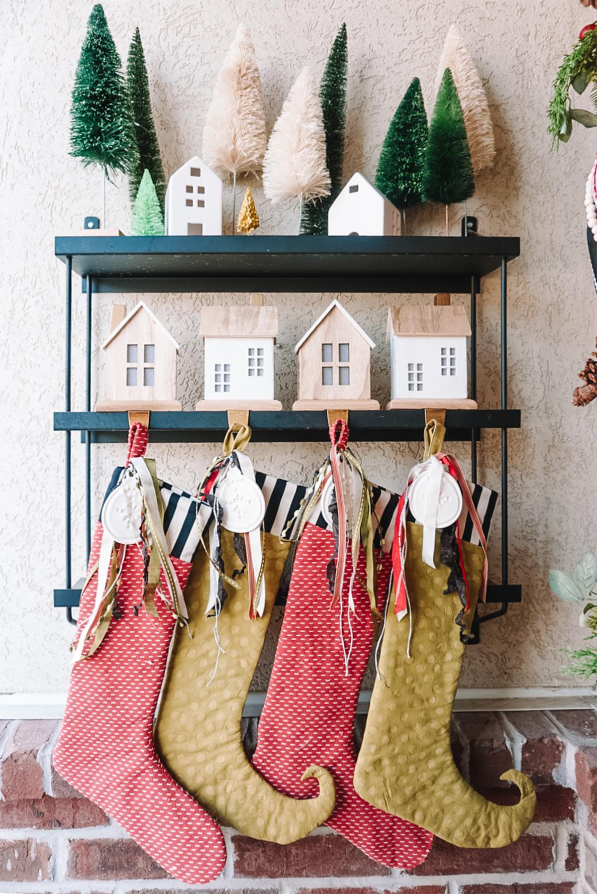 diy christmas stockings with free pattern