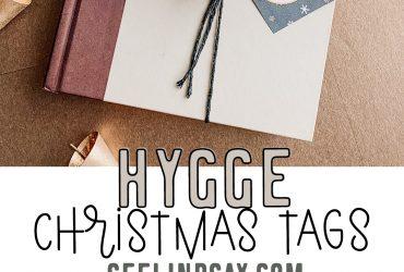 Hygge Christmas Gift Tags – Free Printable