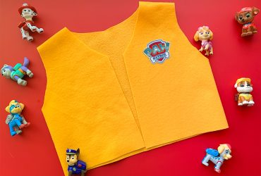 Easy DIY Felt Vest for Paw Patrol fans