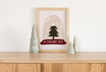 Oh Christmas Tree – Free Winter Printable