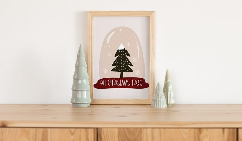 Oh Christmas Tree – Free Winter Printable