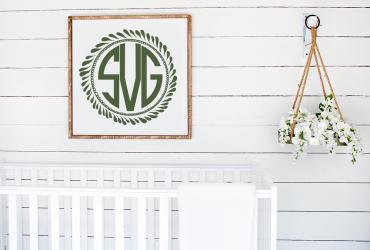 Free Monogram Wreath SVG Plus Many More!