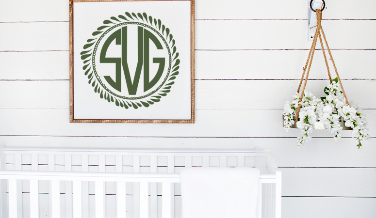 Free Monogram Wreath SVG Plus Many More!
