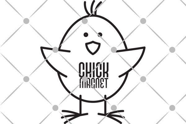 chick magnet svg