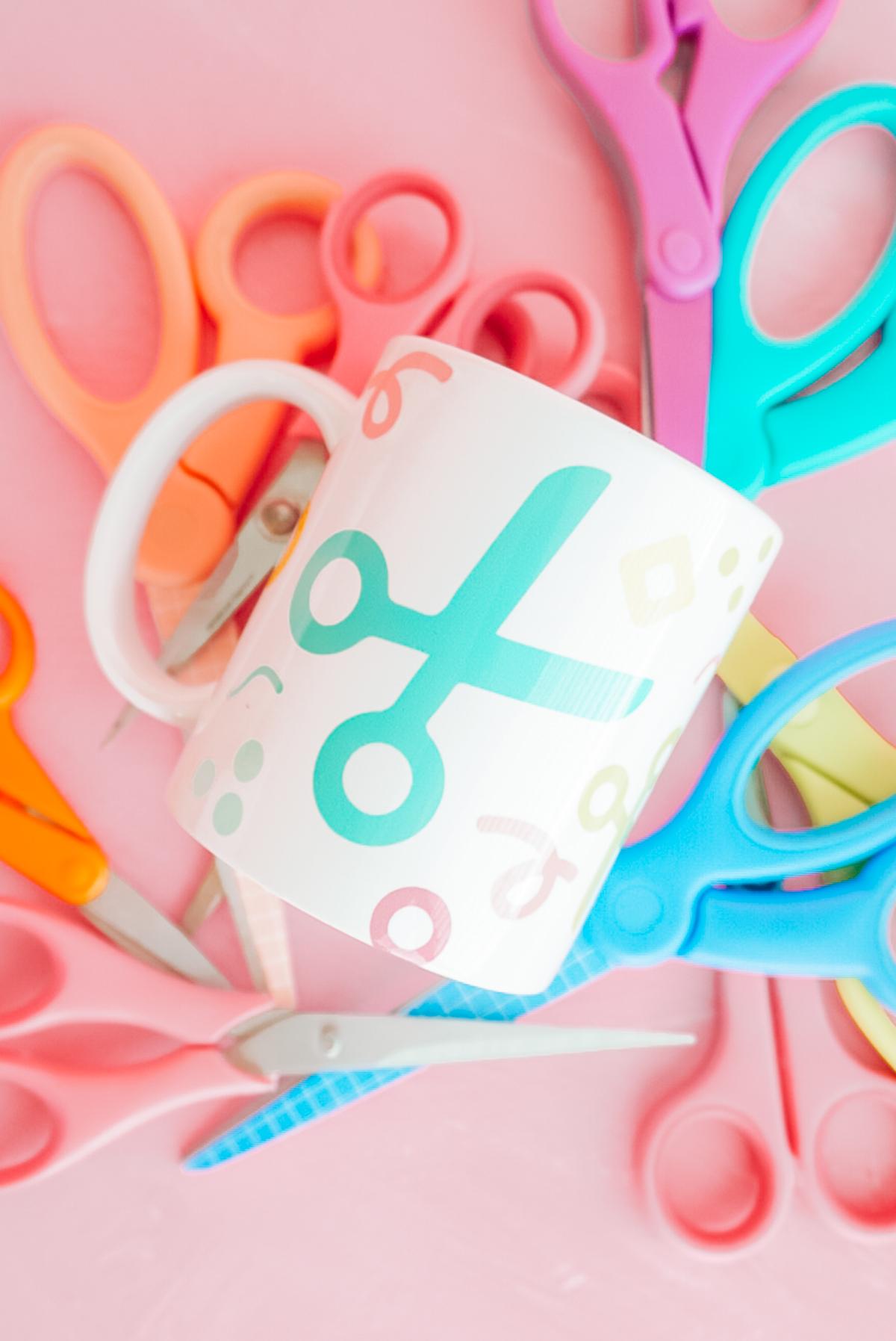cricut mug press design