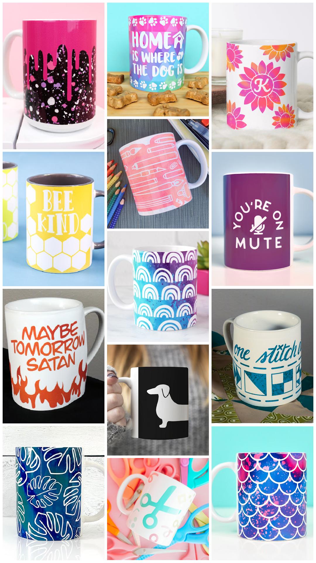 cricut mug press wrap designs