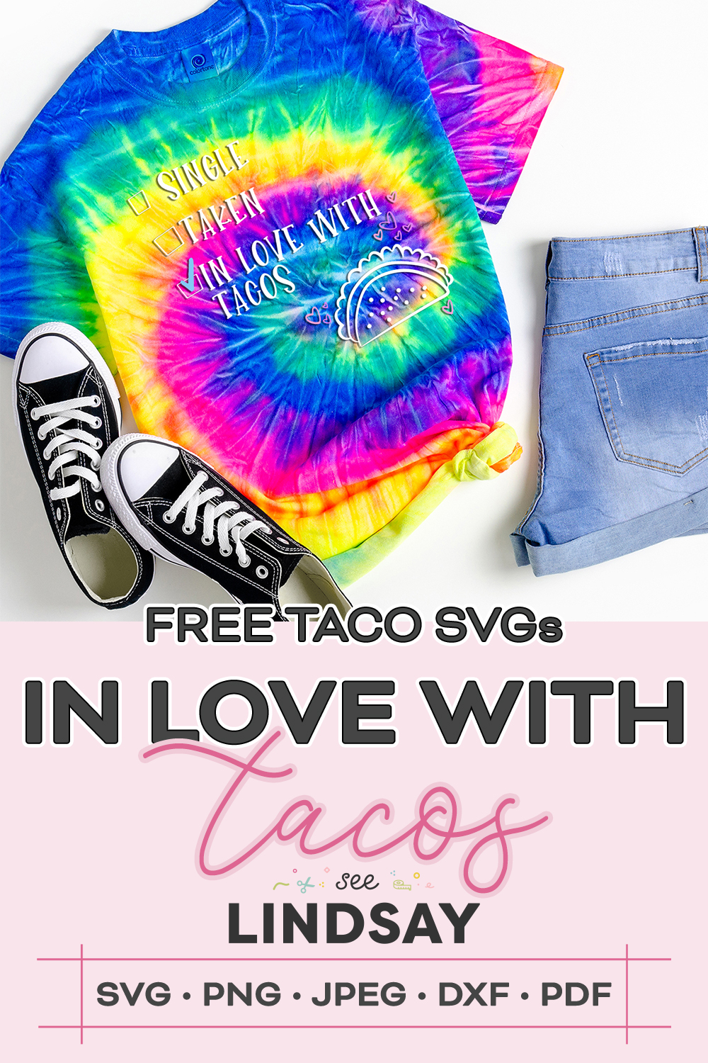 I'm in love with tacos shirt
