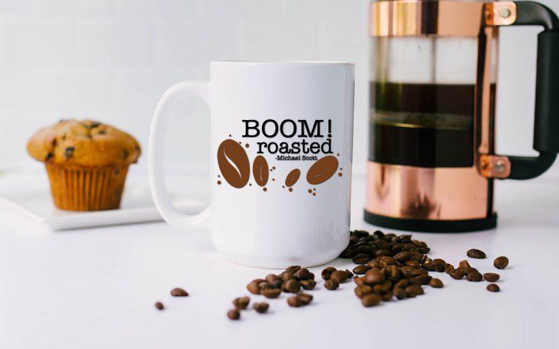 Free Coffee SVG Files – Boom! Roasted
