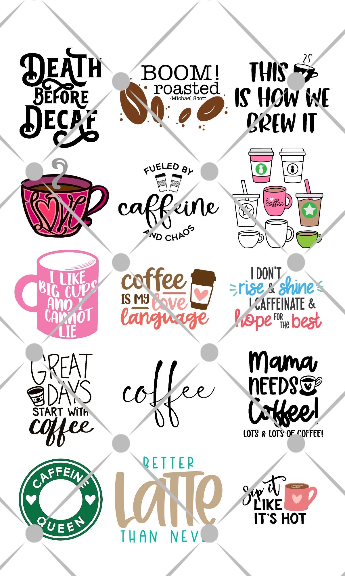 free coffee svg files